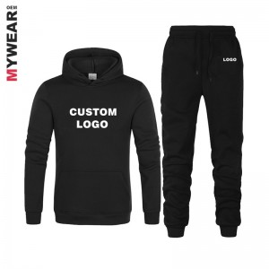Hoodie and sweat pant tracksuit